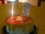 Torta de cumpleaños de El Cíclope